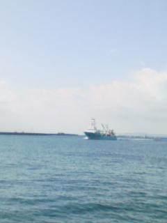 海をみながら
